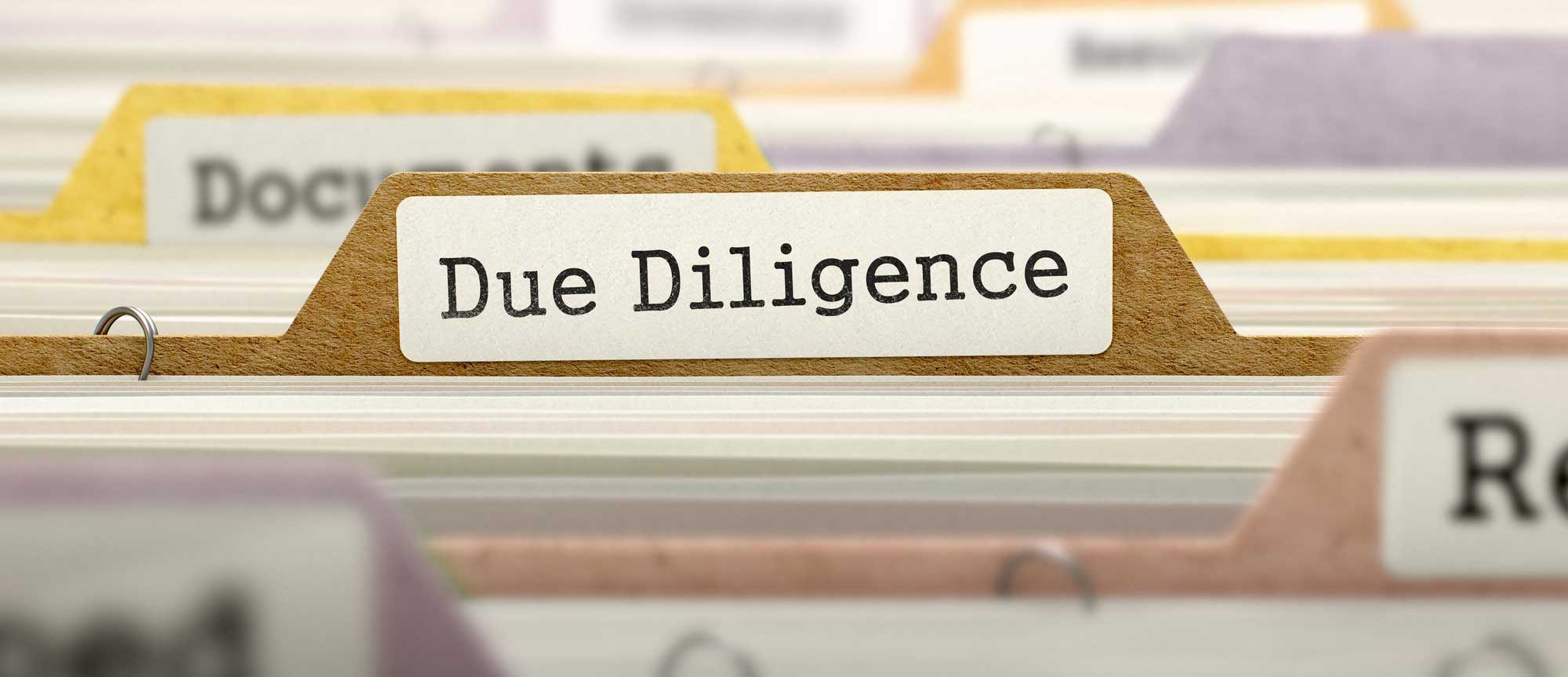 The Increasing Importance of Market Due Diligence